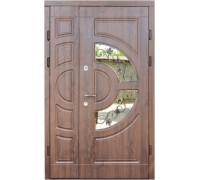 Полуторные двери Греция премиум/стекло