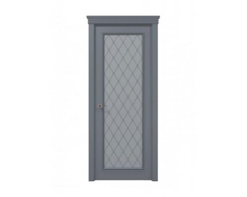 Дверь Папа Карло Art Deco ART-01 бевелс/оксфорд