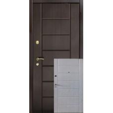 """Входная дверь """"Сити 2 цвета"""""""