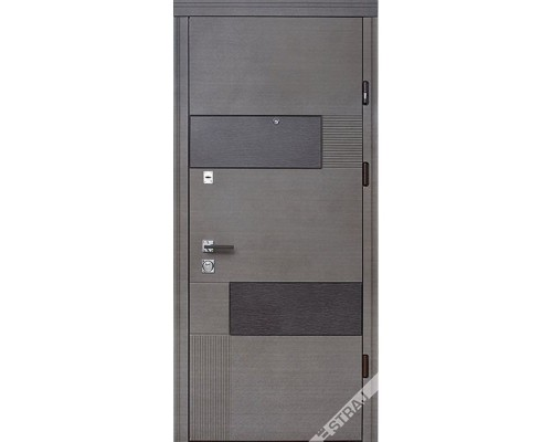 Входная дверь Вулкан/Серый